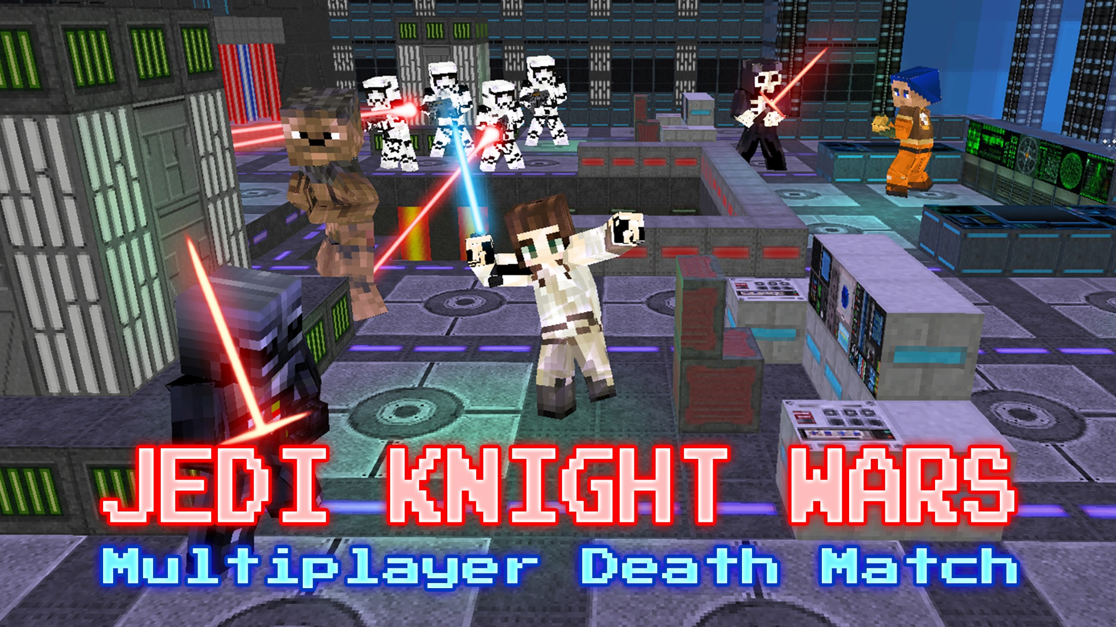 Jedi Knight Wars - LightSaber SciFi Battle for the Star Force 3D Mini Game