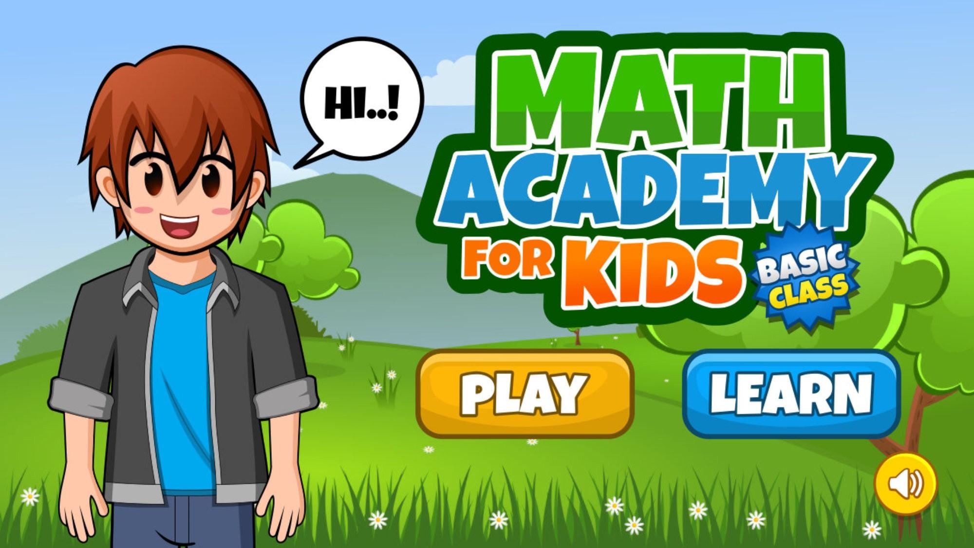 Math Academy for Kids Basic