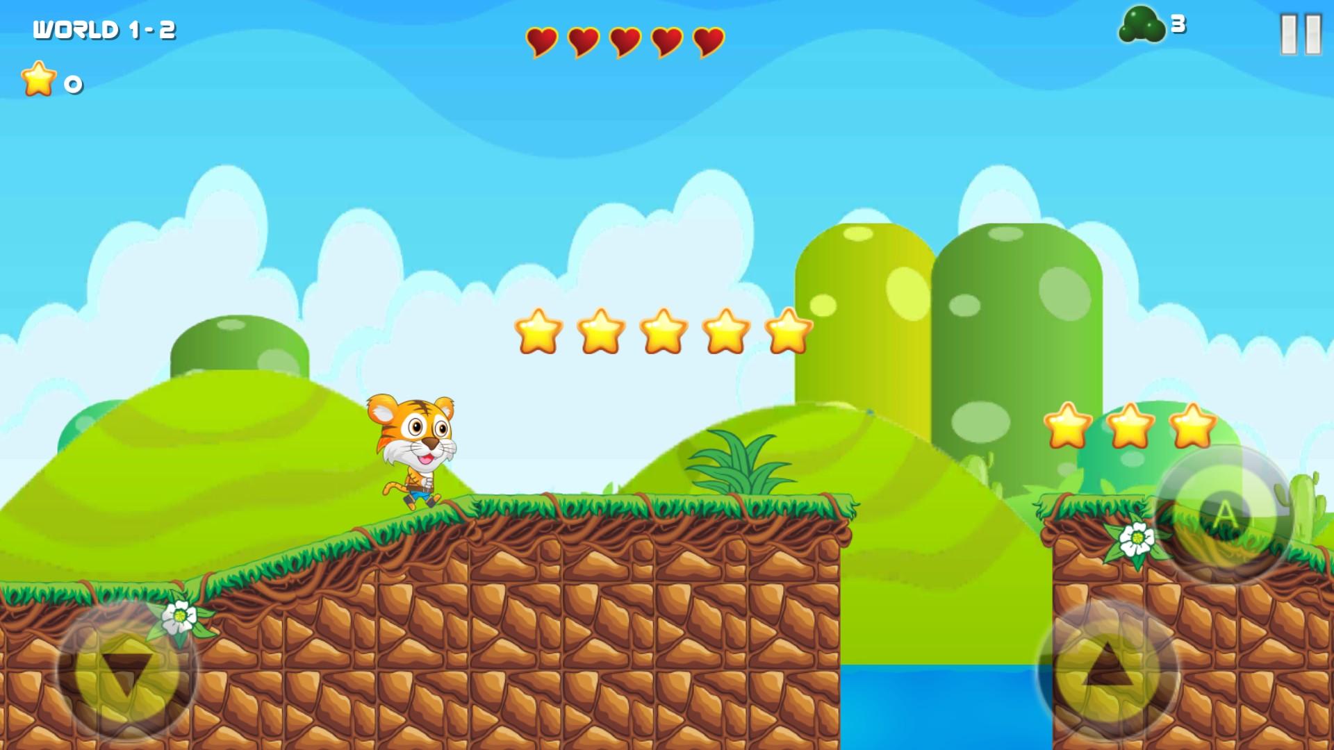 Tiger Jump : Adventure