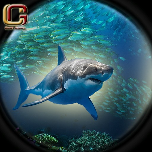 Wild Angry Shark Hunting 2016