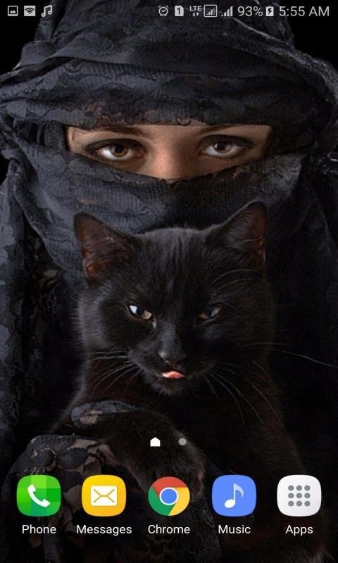 Black Cat Girl LWP