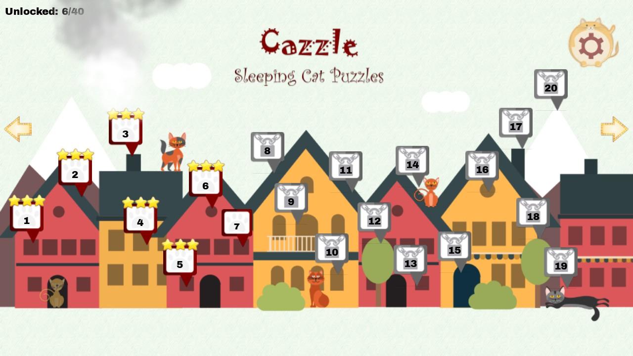 Cazzle - Sleeping Cat Puzzles