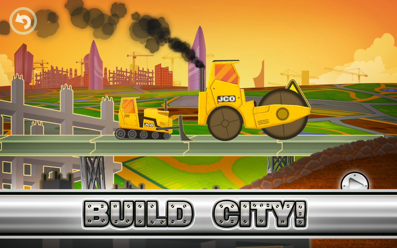 Fun Kid Racing City Builder