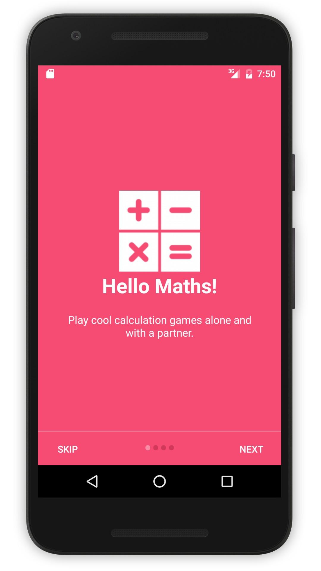 Peaceful Maths