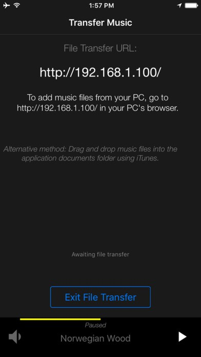 Overture Audio Player