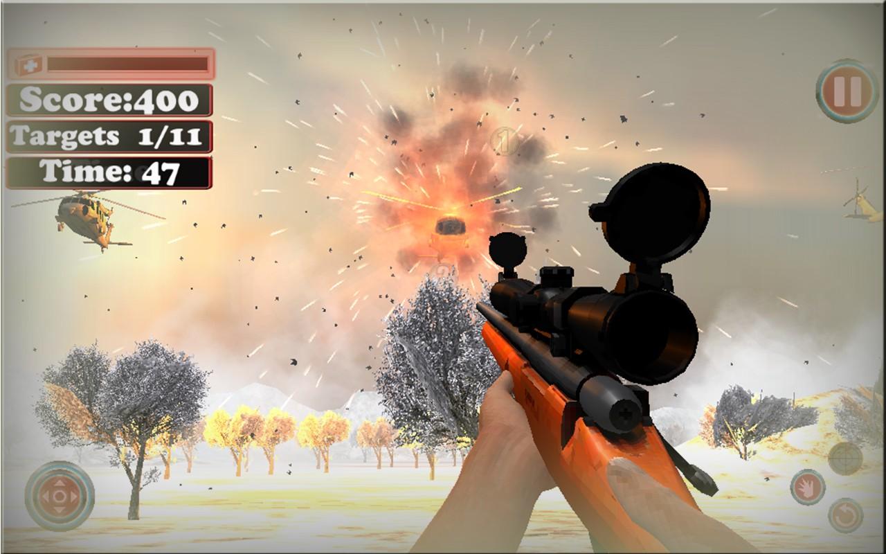 Snow Mountain Sniper War 2016