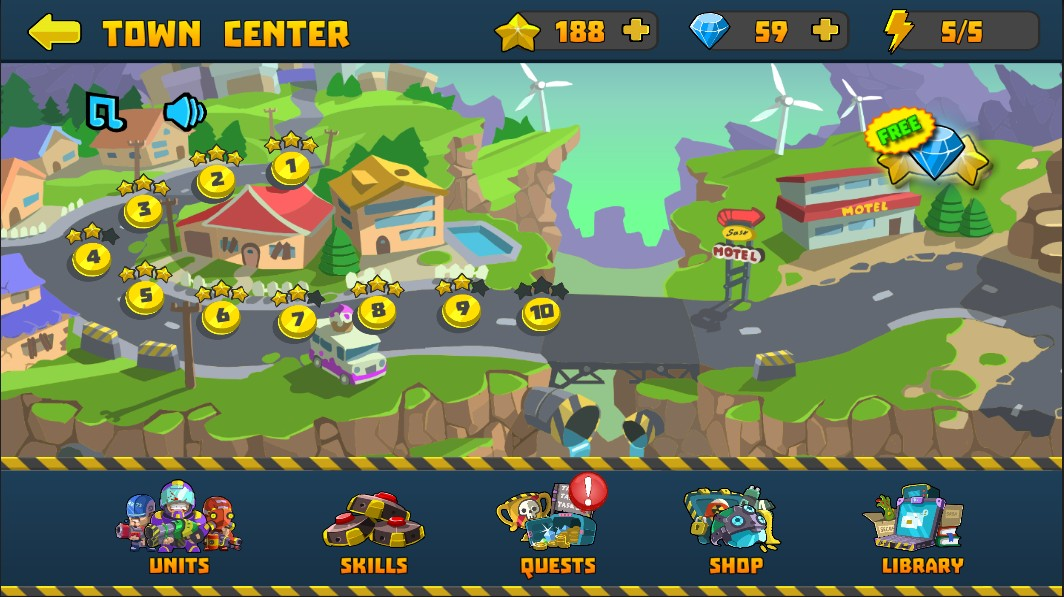 Special Squad vs Zombies - Best Addictive Defense Game
