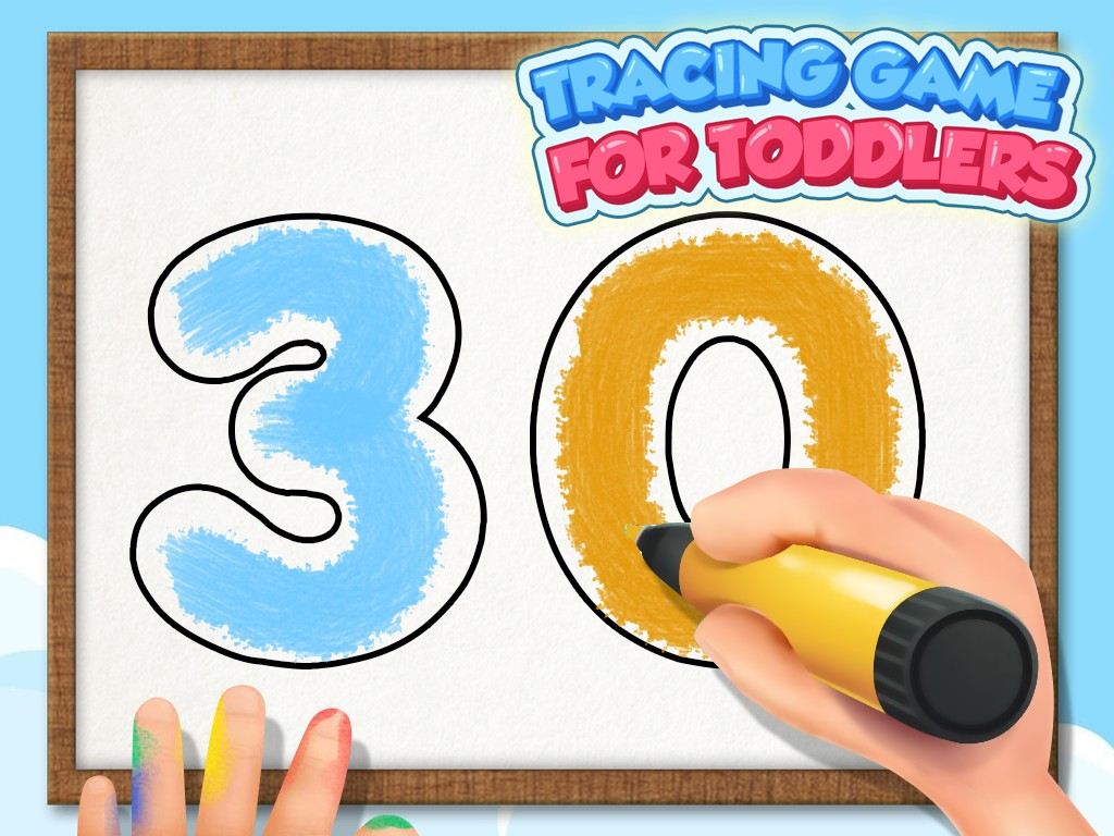 Tracing Game For Toddlers