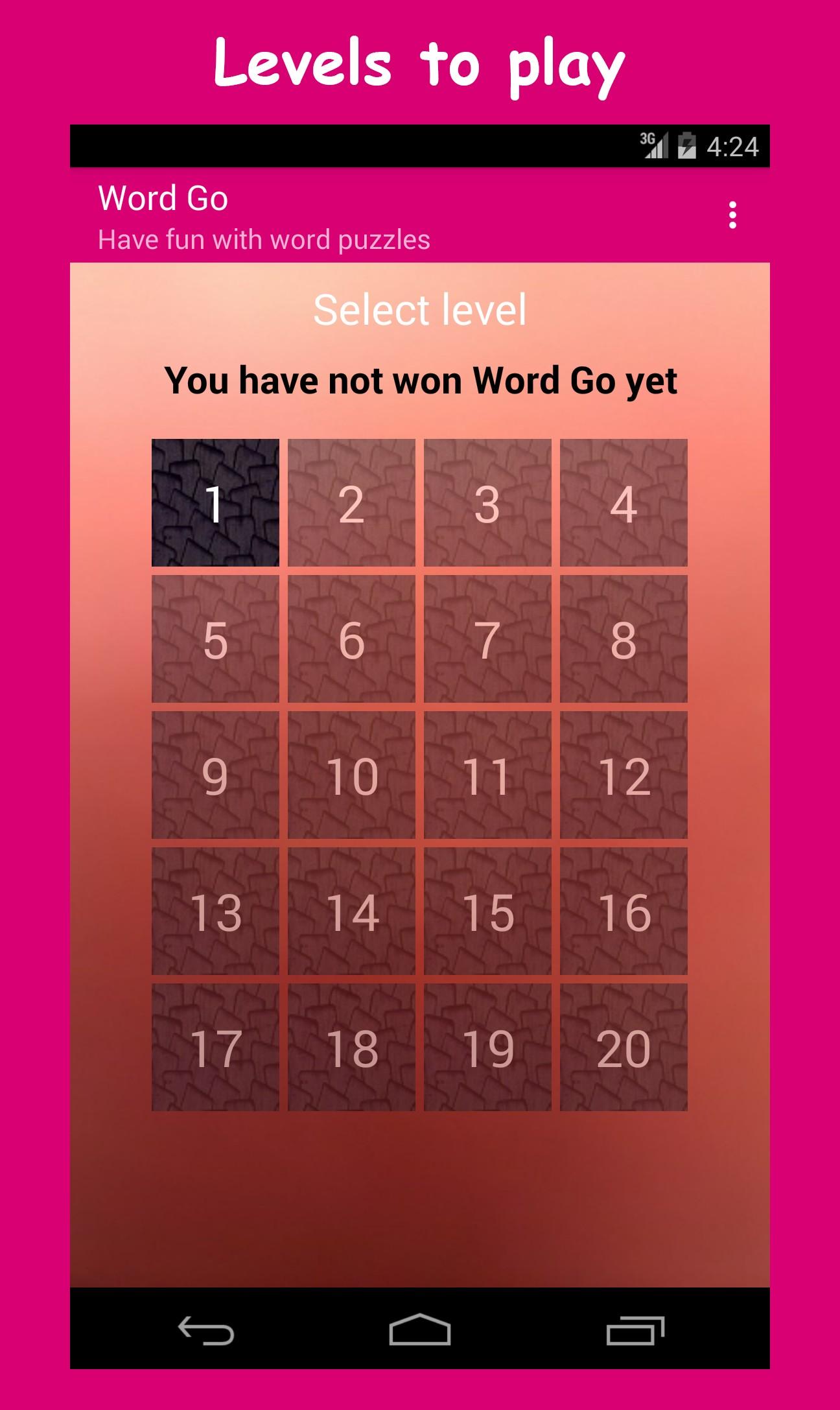 Word Go