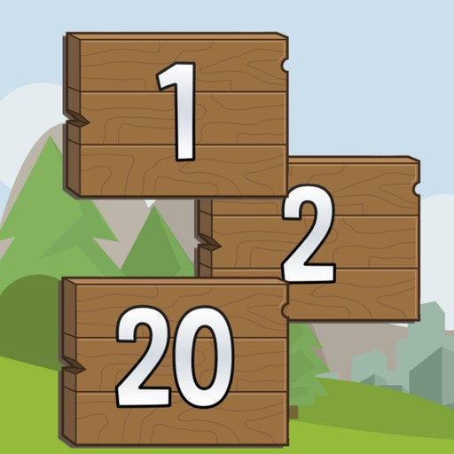 1-2-20 - Addictive Speed and Reflexes Puzzle Game