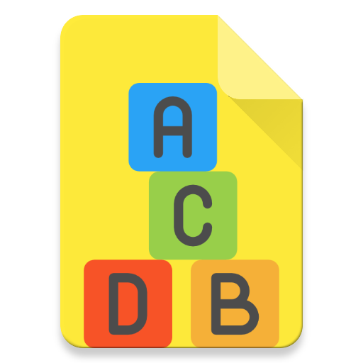 Alphabets learning app for kids