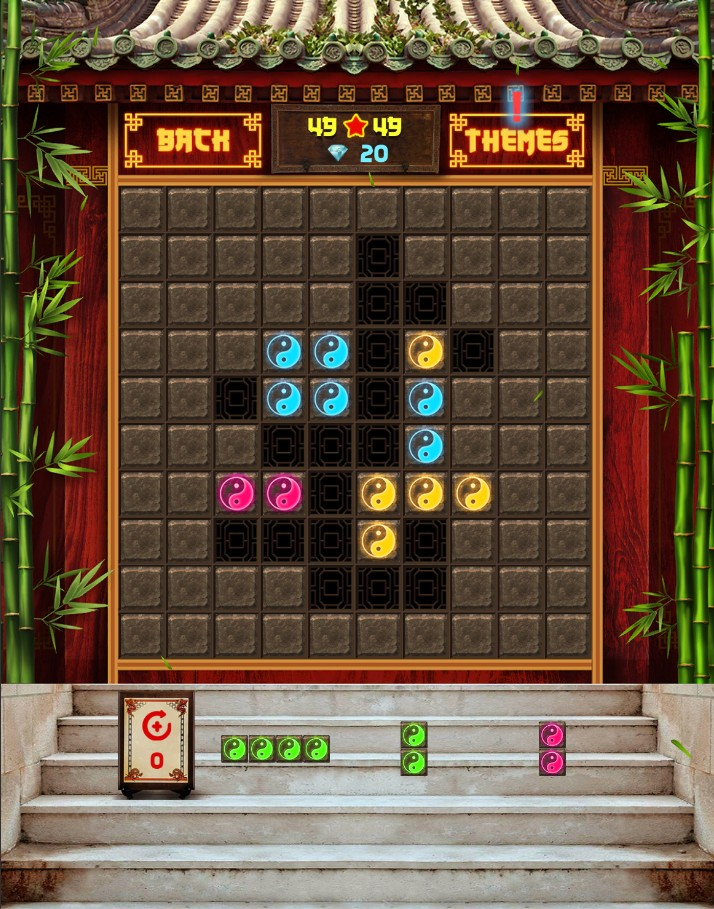 Block Puzzle Plus: China style