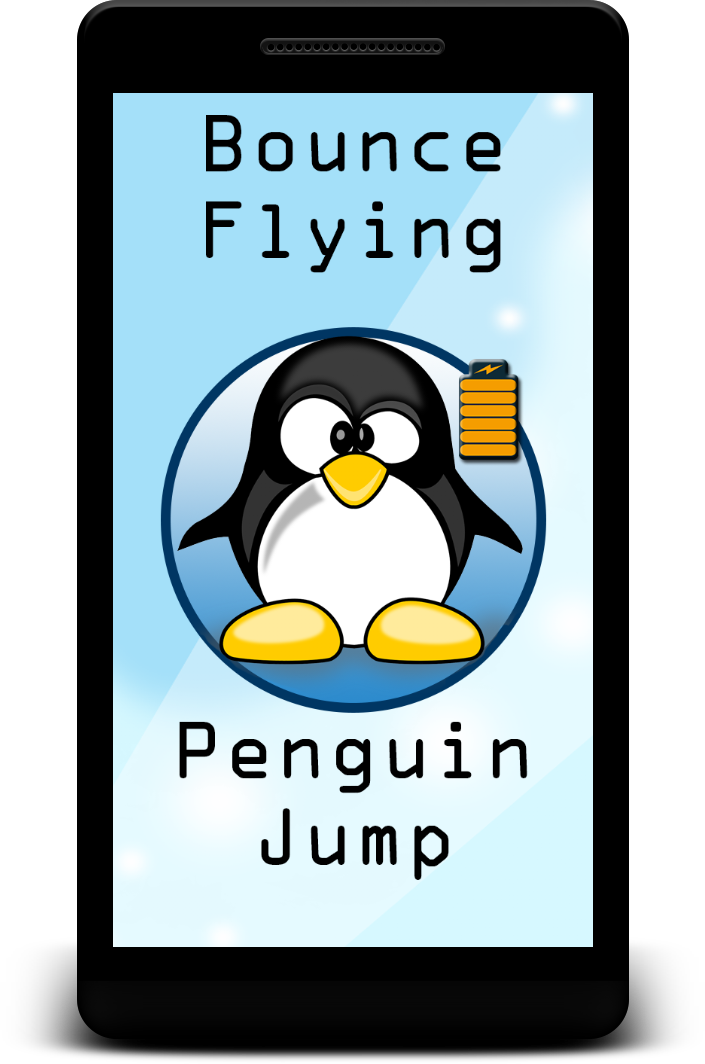 Bounce Flying Penguin Jump