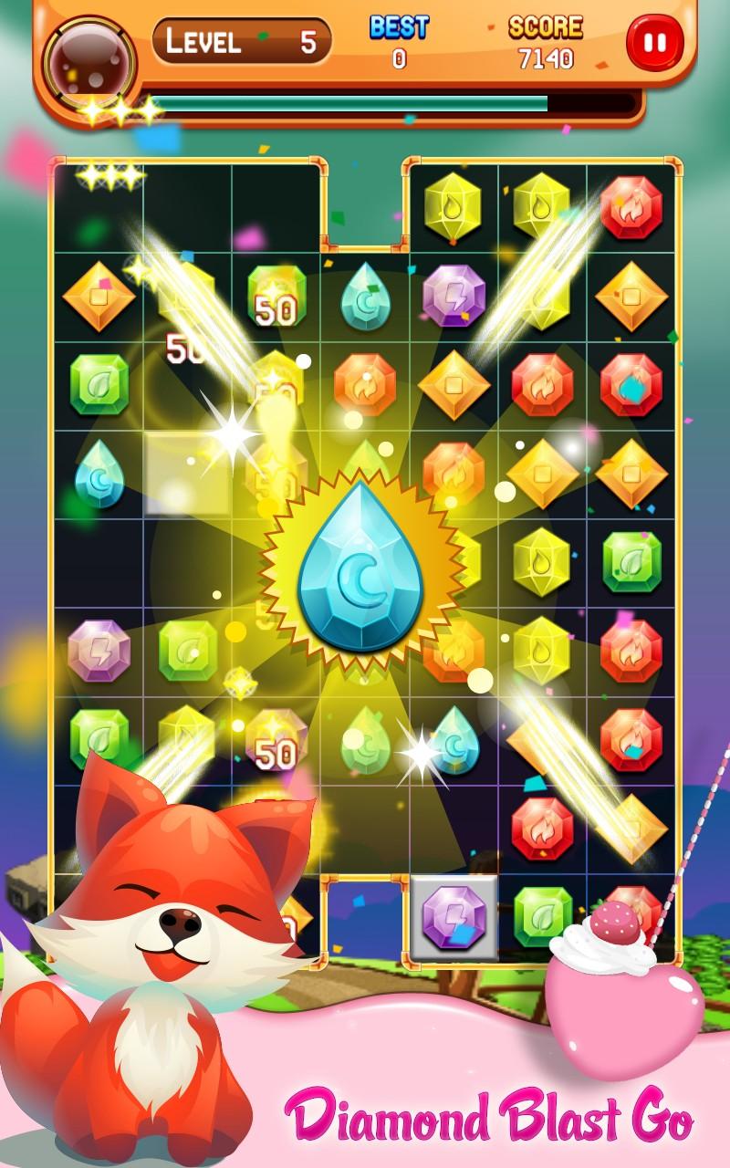 Diamond Blast Go