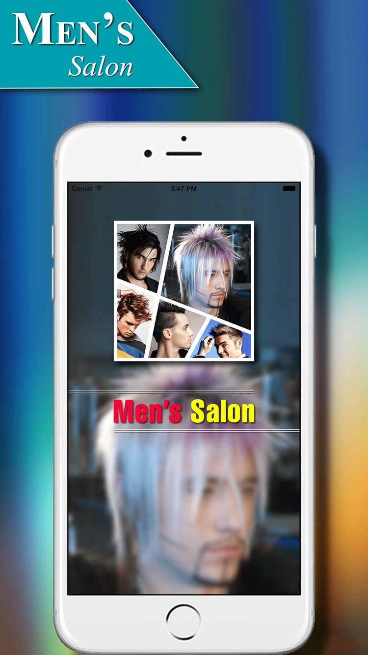 Men's Salon - Men's Hairstyles | iOS
