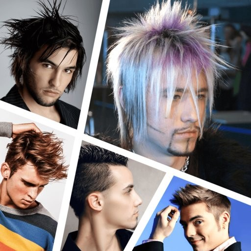 Men's Salon - Men's Hairstyles | iOS