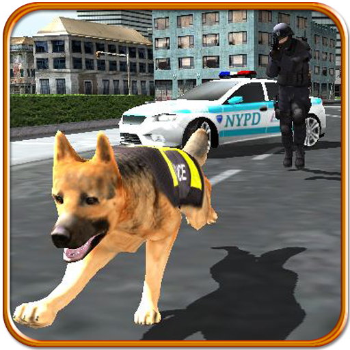 Police Dog Chase Criminal 3D