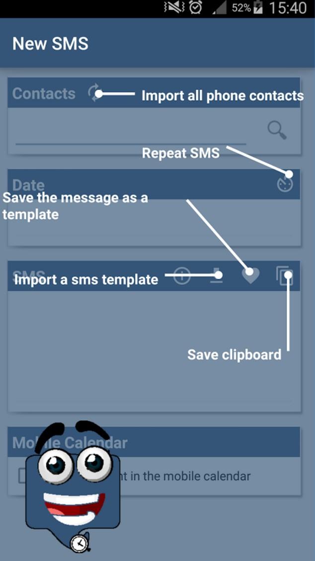 SMS Calendar Pro