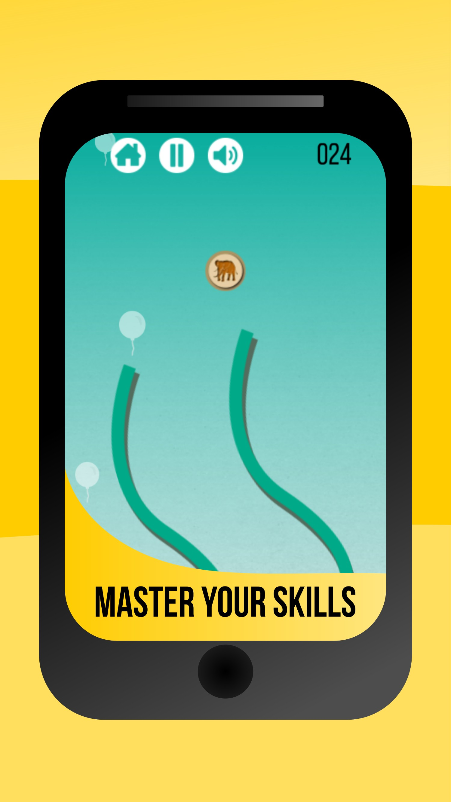 Fallin (free) - Addictive, Falling down, Endless Puzzle Game