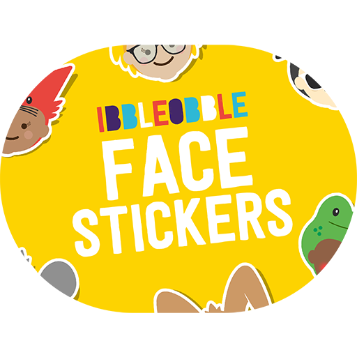 Ibbleobble Face Stickers