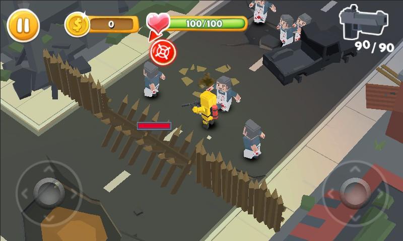 Pixel Zombie War