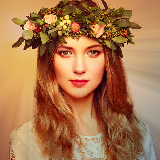 Flower Crown Image Editor | iOS