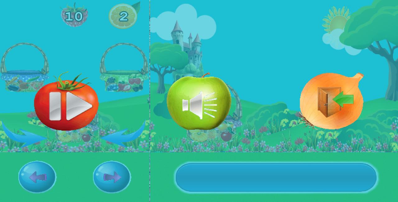 Fruit shooter games - Fruit Ball