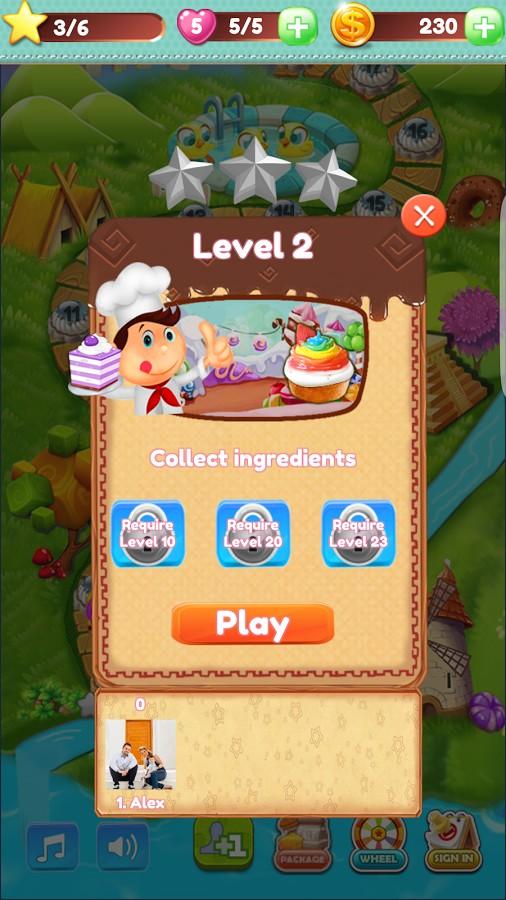 CookieBloom Puzzle Game