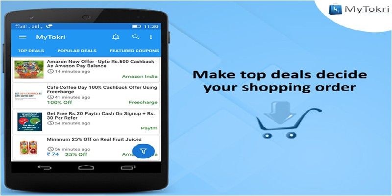 MyTokri - Best Deals and Discount App