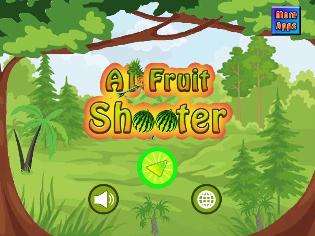 Fruit shooter games -
