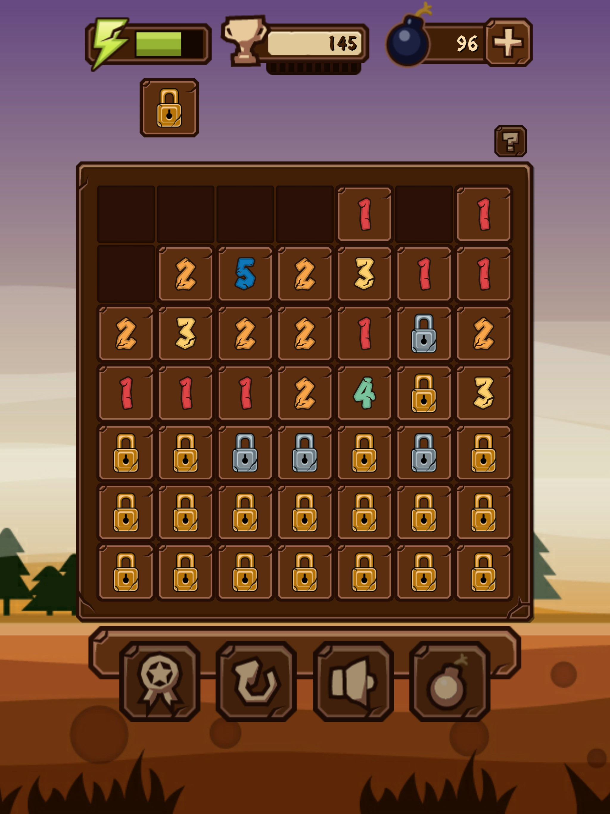 7Bricks - Complex logic puzzle game with numbers