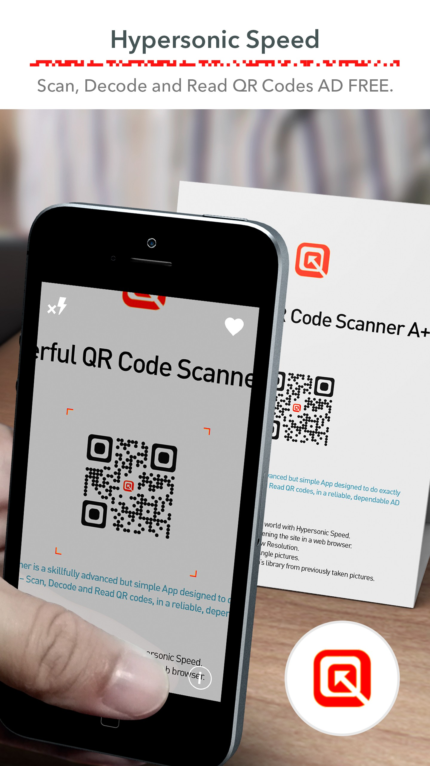 QR Code Scanner (Recommended) Free, FAST & No ADS