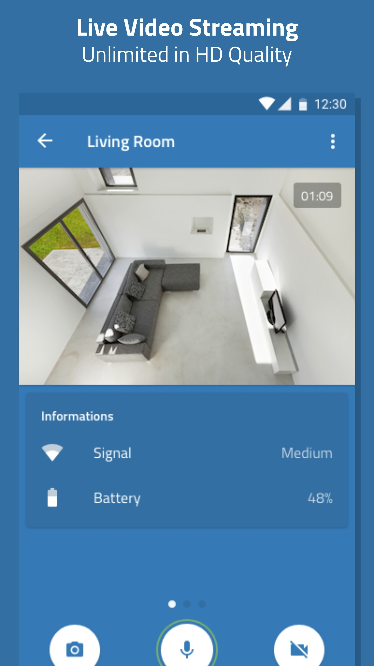 Turn your old Android phone into a Free Home Security Camera