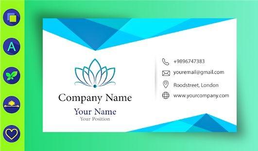Digital business card maker creator tags art digital business card reheart Choice Image