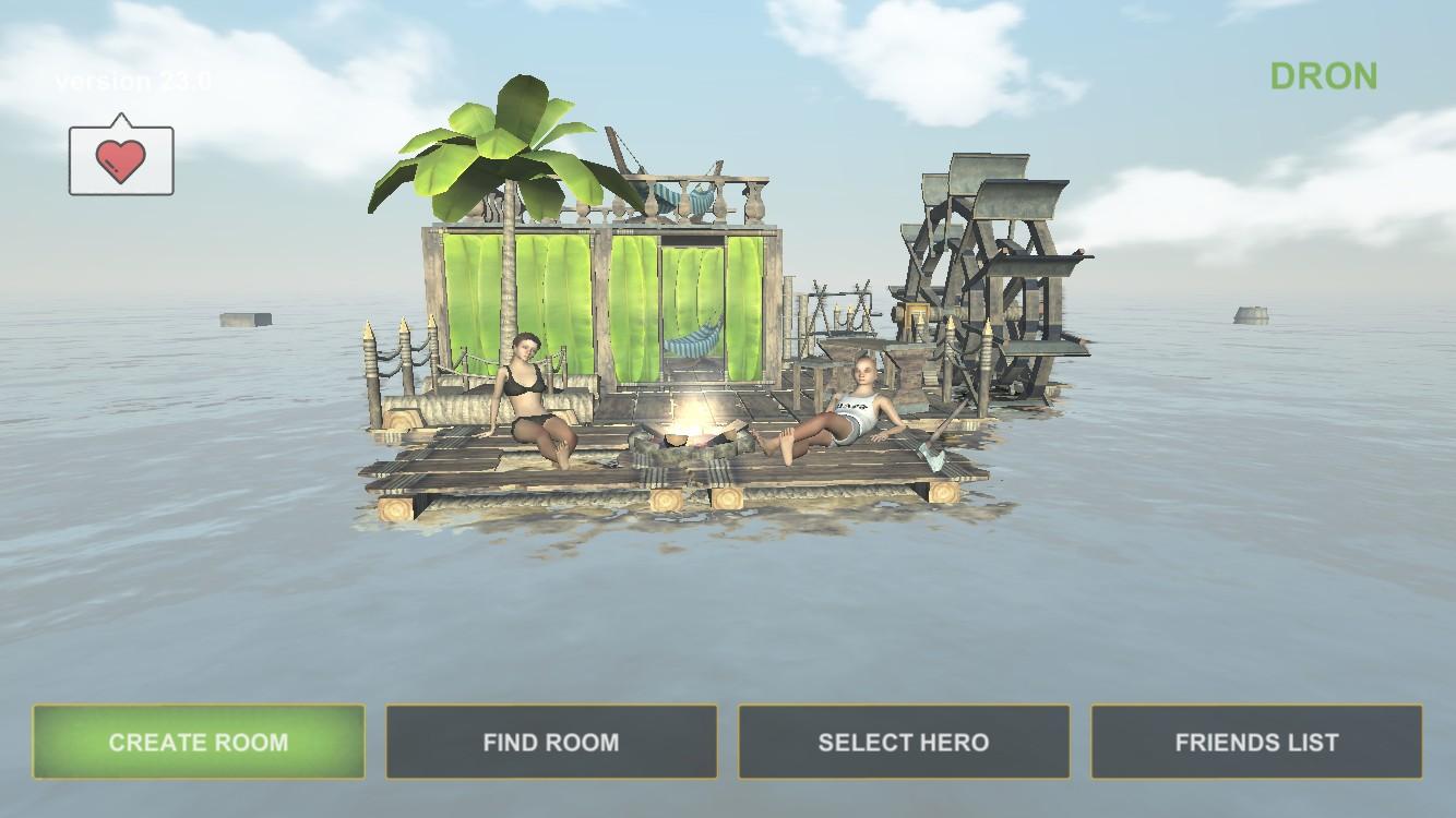Survival on Raft Online