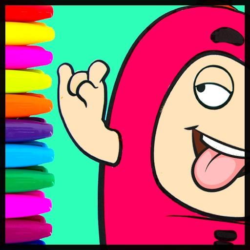 Cartoon Coloring Books Draw