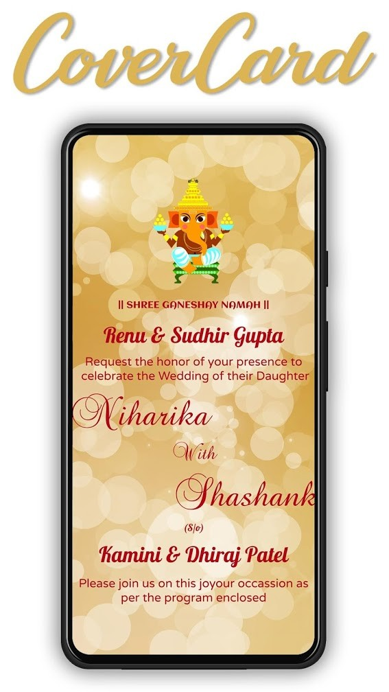 invitekaro wedding video invitation card maker
